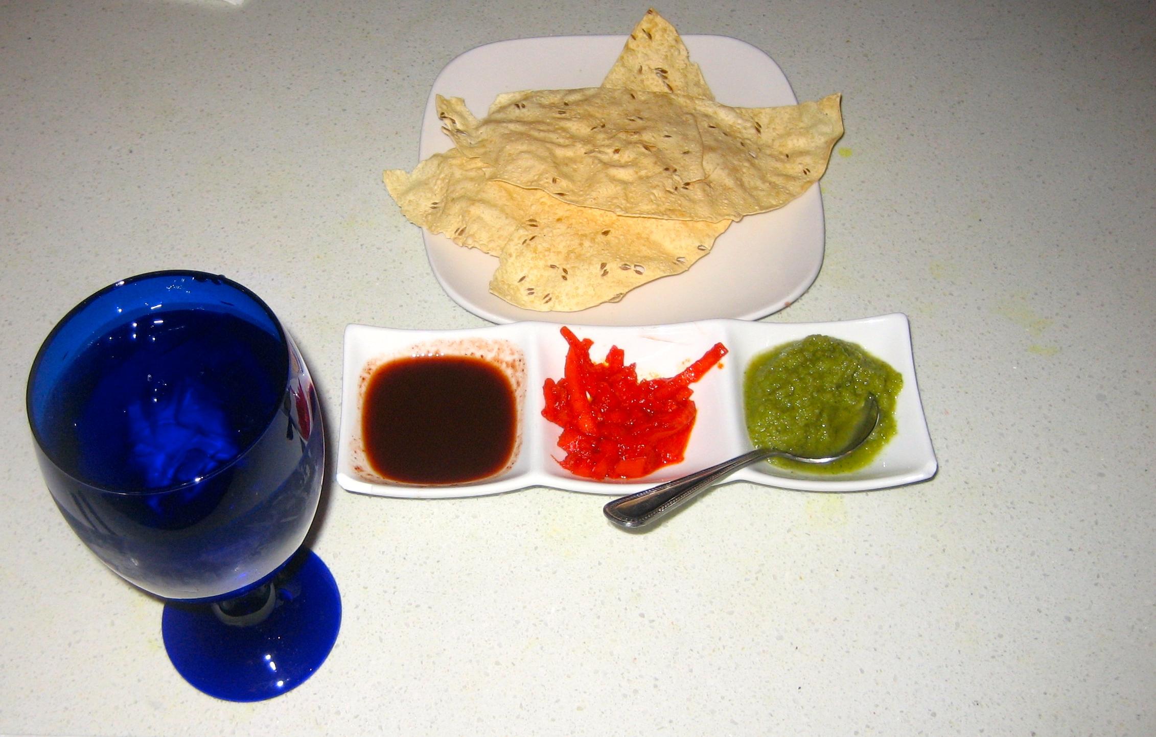 Taste of India's chutneys